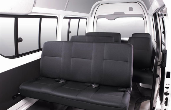 Toyota-Hiace-commuter-interior